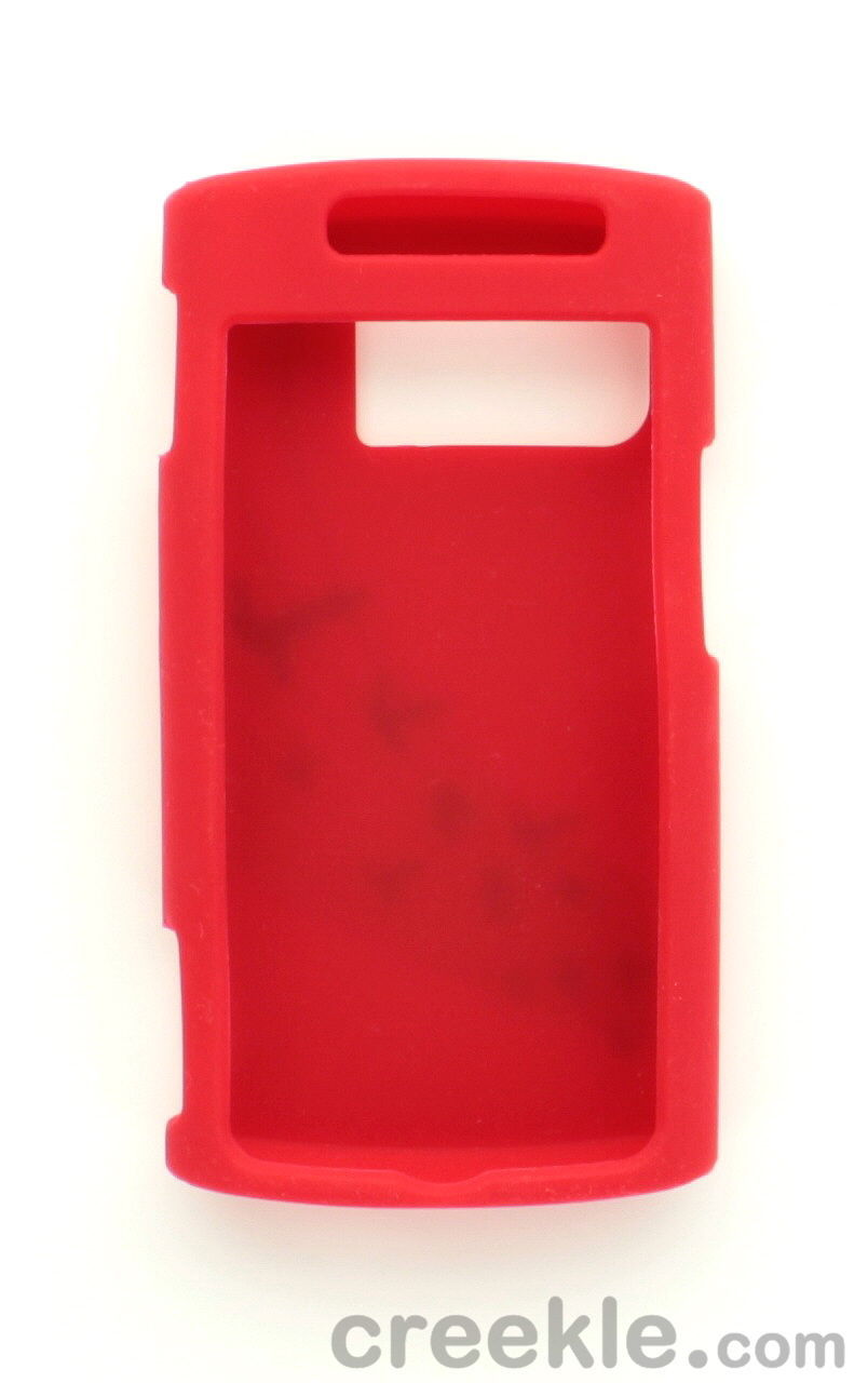 FREE SHIPPING on Attractive Silicone Gel Skin Case for Kyocera M6000 Zio Red
