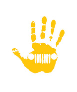Jeep wave_yellow color - $6.00
