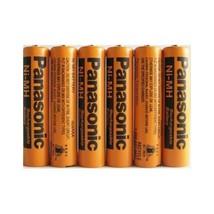 Panasonic NiMH AAA Rechargeable Battery for Cordless Phones x six 6 aaa ... - $39.59