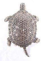 PAVE MARCASITE TURTLE PIN - $130.00