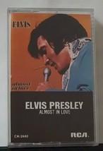 Elvis Presley Almost in Love Cassette - $12.00