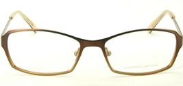 Prodesign Denmark 1259 5041 Brown Gradient Eyeglasses Frame 53-16-135mm (Notes) - $63.86