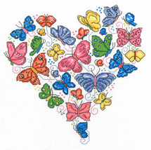 Once Upon A Butterfly cross stitch chart Imaginating - $6.30