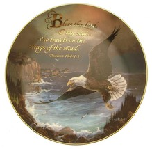 Franklin Mint Travels on the Wings of the Wind Ted Blaylock religious pl... - $49.57