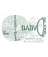 Let's Love Baby cross stitch chart Imaginating - $5.40