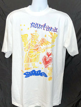 Santana-2000 World Tour XL White T-shirt - $24.18