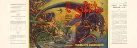 Edgar Rice Burroughs BACK TO THE STONE AGE facsimile jacket Burroughs, Inc. - $21.56