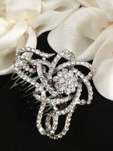 Galaxy infinite Art deco hair accessory , bridal hair style rhinestone ,... - $38.00
