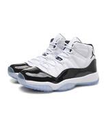 Men's Air Jordan 11 Shoes Michael Jordan White Basketball Shoe - $96.99