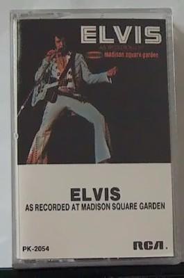 Elvis madison square garden cassette