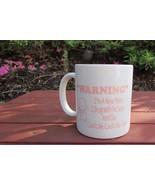 Warning new mom coffee mug gift I Brag with photos go Cootchie cootchie coo - $9.99