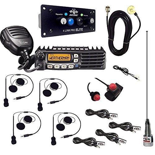 PCI Race Radios 1099 + 1092 California Ultimate 4 DSP + Bluetooth Upgrade