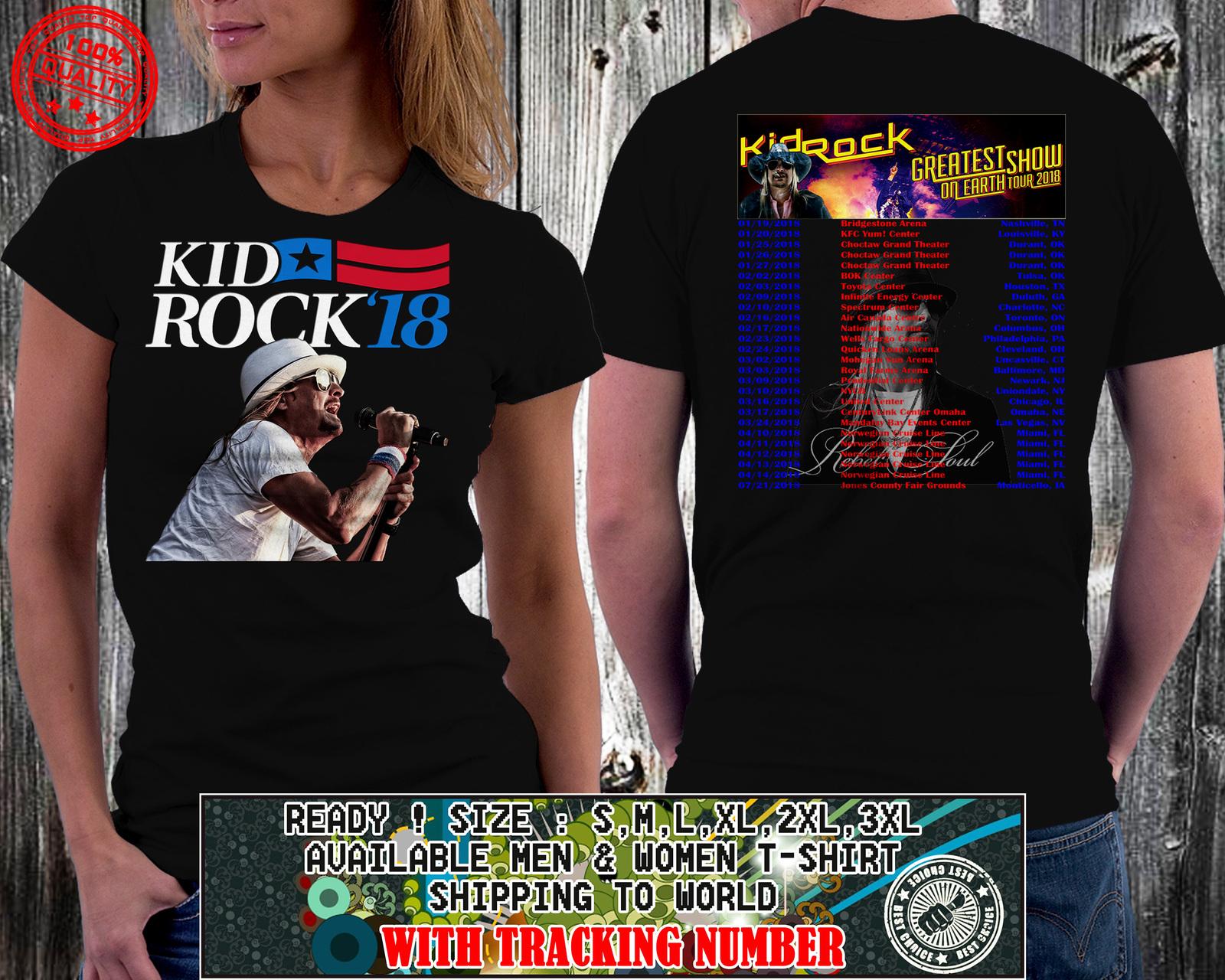 ae393e0bcce Kid Rock Concert T Shirts 2018 - Joe Maloy