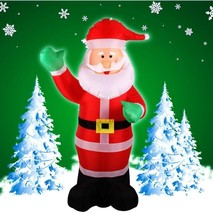 Inflatable Christmas Santa Claus Yard Airblown Decorations Holiday Outdo... - €97,78 EUR
