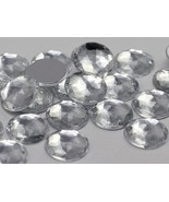 11mm Crystal A01 Flat Back Round Acrylic Jewels High Quality Pro Grade -... - $5.59