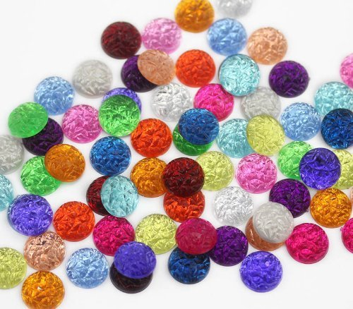 Primary image for 11mm Assorted Baroque Cabochons - 200 Pieces [Kitchen]