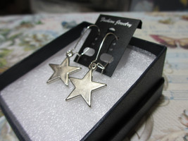 Handmade Star Dangle Earrings - $5.99