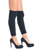 The Arc Fashion Designed Leg Warmer - Free Size (free size, black) [Appa... - $9.89