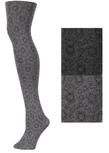 Primary image for Yelete Floral Print Nylon Tights - Multiple Styles - Free Size (free size, ca...