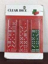 42 Clear Dices - $14.03