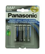 Panasonic Batteries AAA 4-Pack Super Heavy Duty Batteries   - $4.40