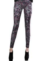 Fashion Mic Womens Intense Graphic Print Liquid Leggings (S/M, lips and ... - $25.73