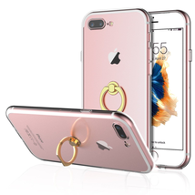 Kickstand Case 360 Degree Rotating Ring Cover for iPhone 7 Plus - $6.62