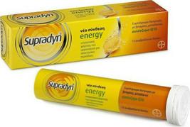 Bayer Supradyn Energy with Q10 15 eff. tabs - $18.80