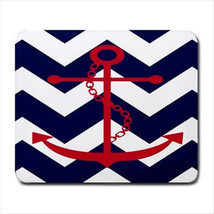 CHEVRON ANCHOR SALORMAN DESIGN LAPTOP COMPUTER GAMING MOUSE PAD MATS MOU... - $150,51 MXN