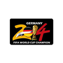 Germany Celebration Fifa World Cup Champion 2014 SOUVENIR REFRIGERATOR M... - $3.99