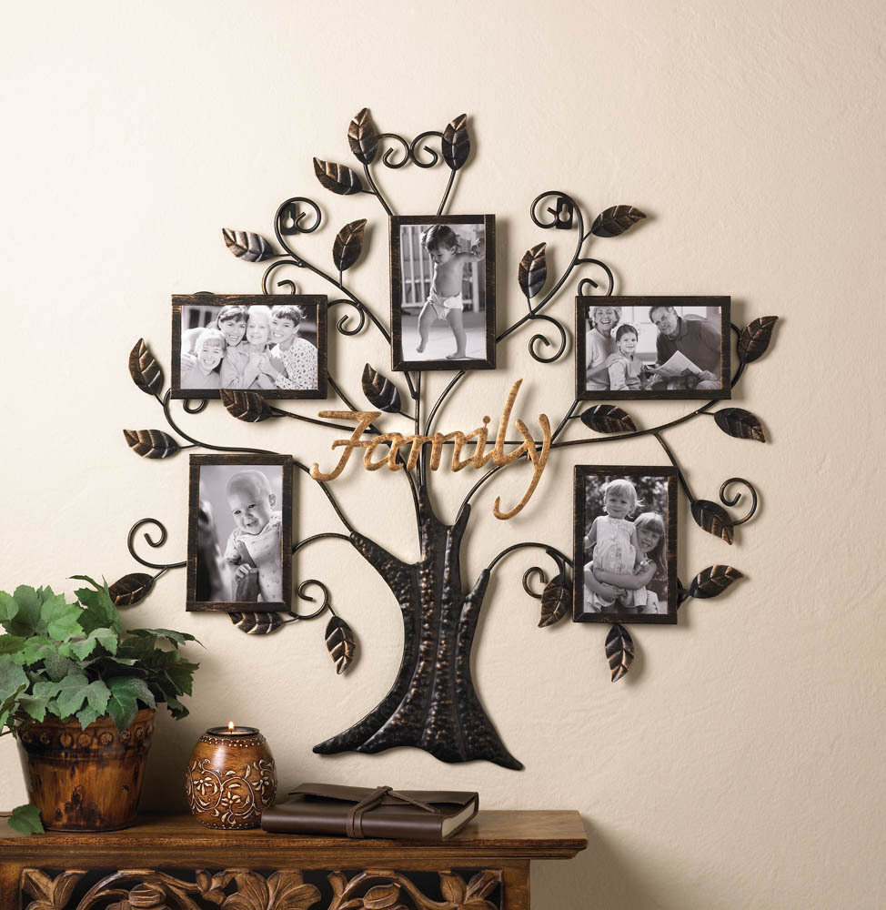 Family Tree Picture Frame Wall Decor Frames