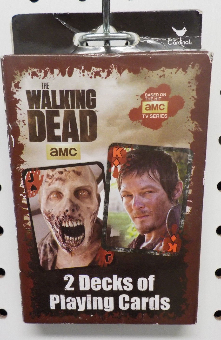Primary image for The Walking Dead Playing Cards - 2 Decks w/ Dixon Brothers + Zombies (NEW -AMC)