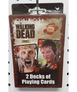 The Walking Dead Playing Cards - 2 Decks w/ Dixon Brothers + Zombies (NE... - $12.99