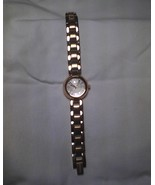 """Fossil ladies """"Evelyn"""" watch - rose gold tone on stainless, adjustable band  - $50.00"""