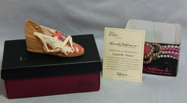 """Just The Right Shoe Espadrille """"Pacha"""" No. 25328 in Original Box - $7.92"""