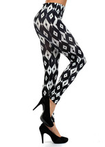 Geometric Print Leggings - $13.85