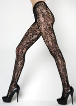 Fashion Mic Women's Floral Vines Fishnet Pantyhose Regular and Queen - €12,23 EUR