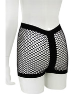 Fashion Mic Women's Black Fishnet Boy Shorts 6 Piece Pack - $27.71