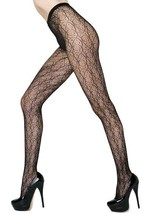 Fashion Mic Women's Spirograph Pattern Fishnet Pantyhose Regular and Queen - €12,23 EUR
