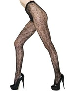 Fashion Mic Women's Spirograph Pattern Fishnet Pantyhose Regular and Queen - $13.85