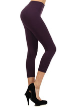 Fashion Mic Womens Basic Regular and Plus Size Capri Leggings - $9.89+