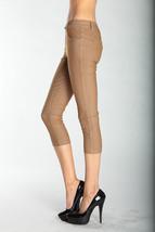 Fashion Mic Women's Capri Jeggings Solid Colors - $17.81
