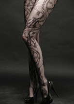 Fashion Mic Women's Pearls Fishnet Pantyhose Spandex Hosiery Stockings - €9,61 EUR
