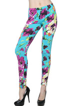Lady's The Butterflies Fashion Legging - $15.83