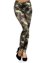 Fashion Mic Women's Animal Print Leggings for Lounging or Going Out - $13.85