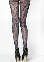 Fashion Mic Women's Peacock Feathers Colorful Fishnet Pantyhose - €12,23 EUR