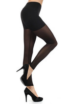 Lady Womens Sedgewick Double Layer with Transparent Shorts Fashion Legging - $15.83