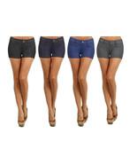 Fashion Mic Womens Basic Summer Cotton Blend Shorts - $13.85+