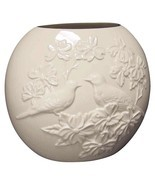 Lenox Four Seasons Vase Collection - Spring - The Dove and Dogwood Tree - £40.07 GBP