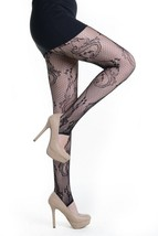 Fashion Mic Womens Floral Nylon Spandex Fishnet Stirrup Stockings - €9,61 EUR